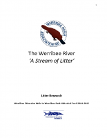 AStreamofLitterReport-A-WRivA-DeakinUni-Project-April-May2015